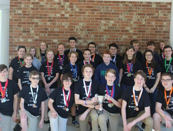 Science Olympiad Team Soars At Regionals